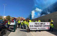 Los convocantes de la huelga del Transporte Sanitario anuncian un acuerdo del Sescam y las contratas para poner fin al conflicto