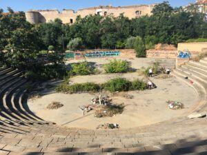 El Ayuntamiento recupera el auditorio 'Pedro Díaz', que abrirá sus puertas el próximo verano con ocio, cultura y hostelería