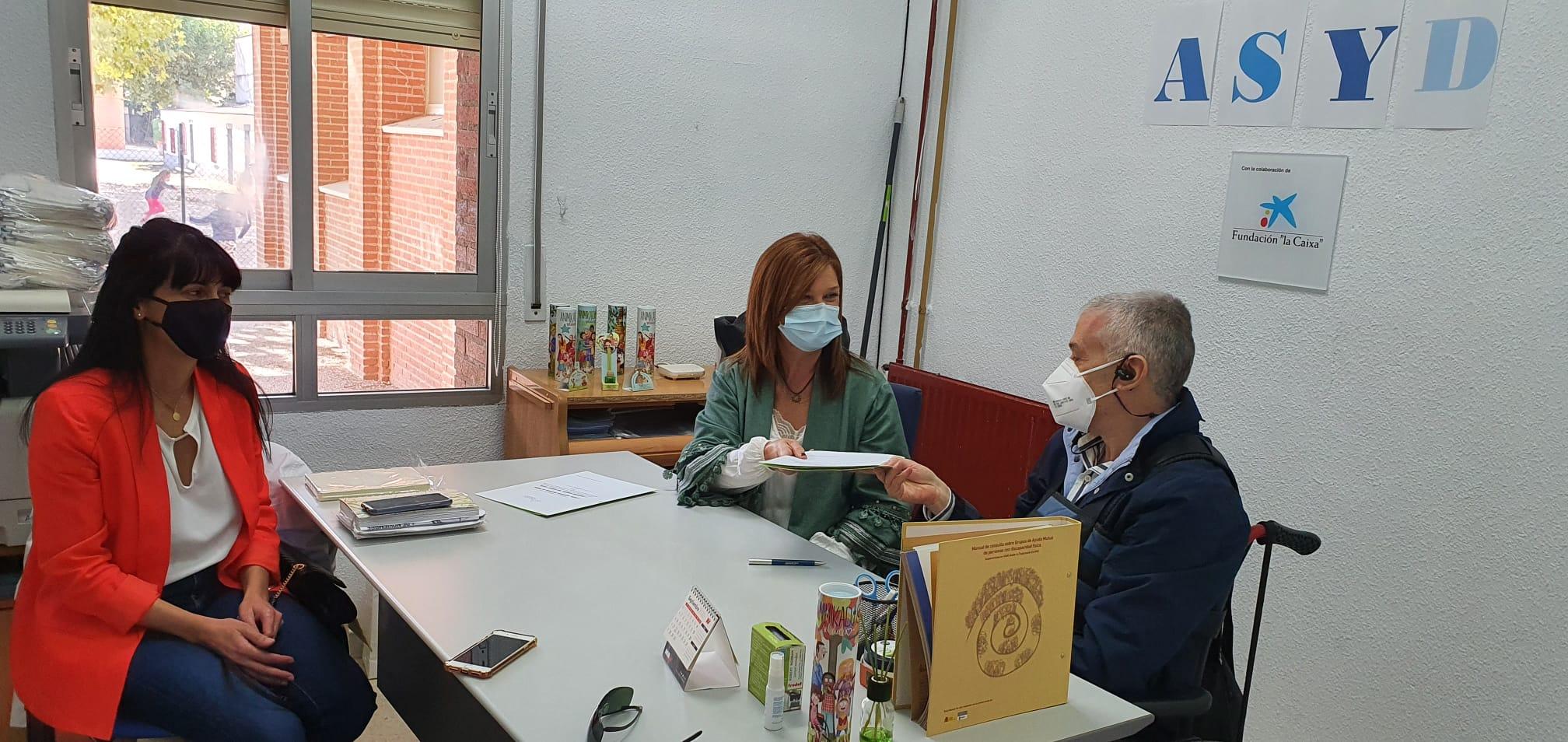 """La Diputación de Toledo respalda a la Asociación Síndrome """"Shy Drager"""" en su atención a las personas afectadas"""