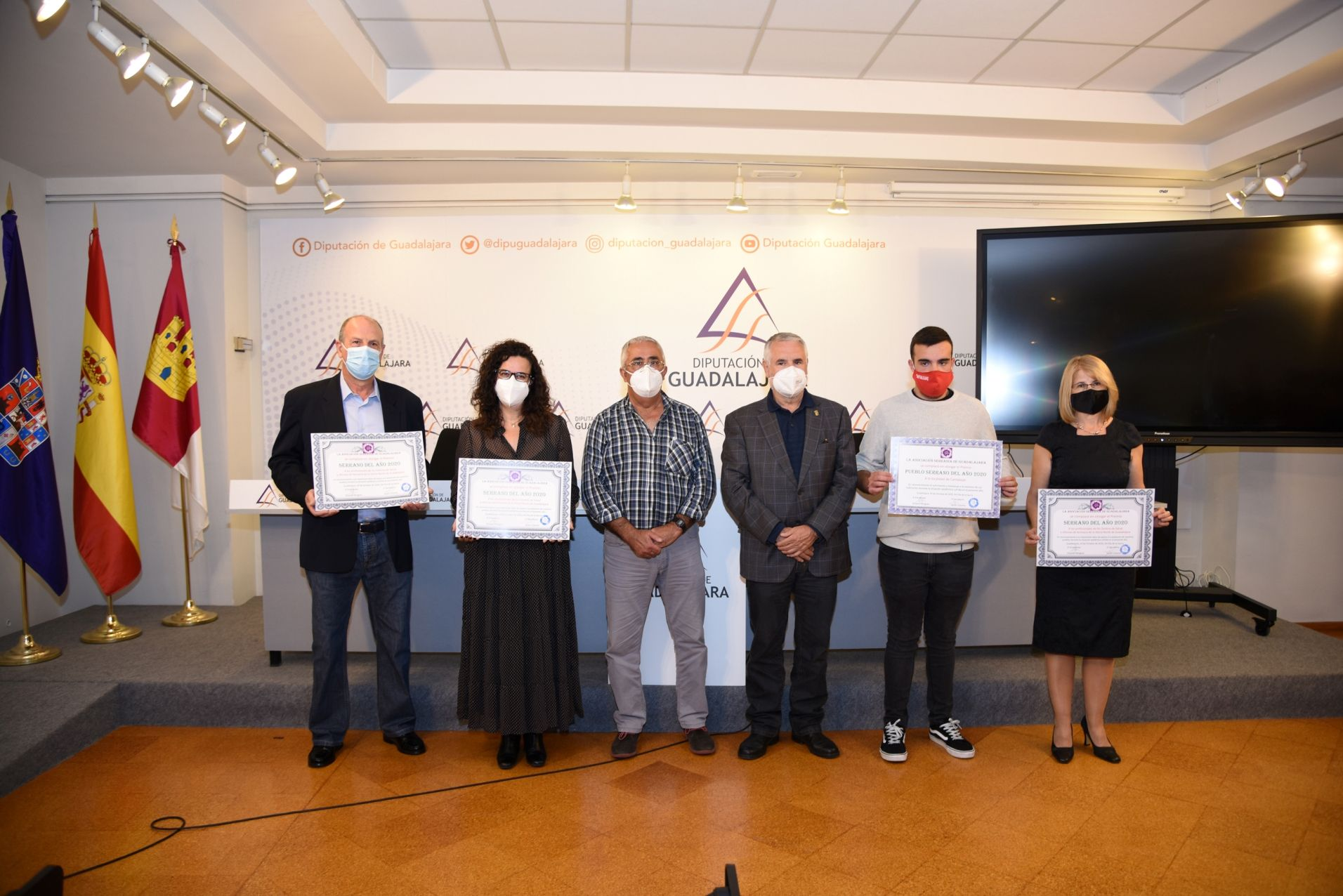 La Diputación acoge la entrega de premios del XIII Día de la Sierra, que este año tiene formato virtual