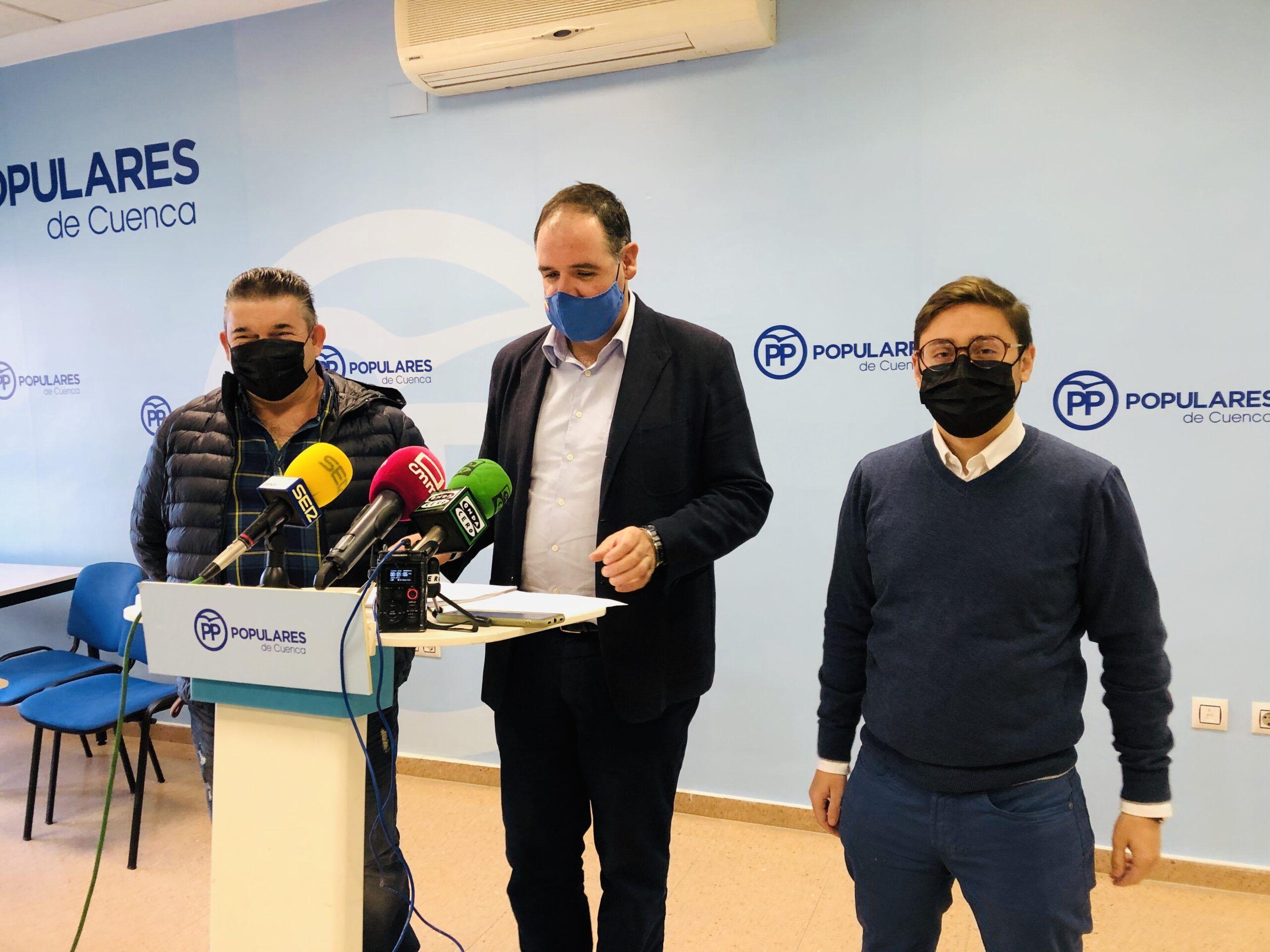 """Prieto exige a Page que pida perdón a Villar de Cañas y que apoye el ATC """"practicando una política de lealtad no con engaños"""""""