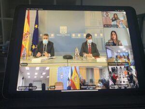 El Gobierno regional coincide con el Gobierno de España en que los protocolos están funcionando y los espacios culturales son espacios seguros