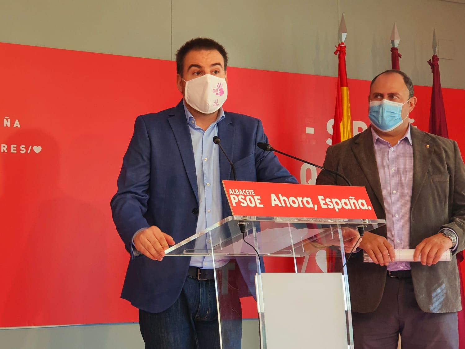 El PSOE de Albacete destaca que el Debate sobre el Estado de la Región evidenció dos modelos,