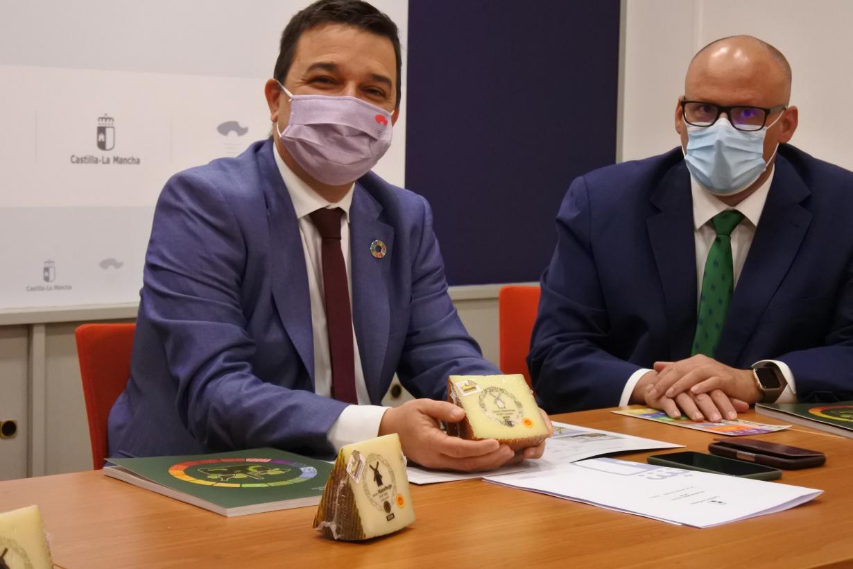 El queso manchego bate récord de producción con 17 millones de kilos, un millón más que el año pasado y con buenas expectativas en las ventas