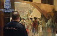 Recuperado en Bruselas un cuadro de Sorolla valorado en tres millones de euros
