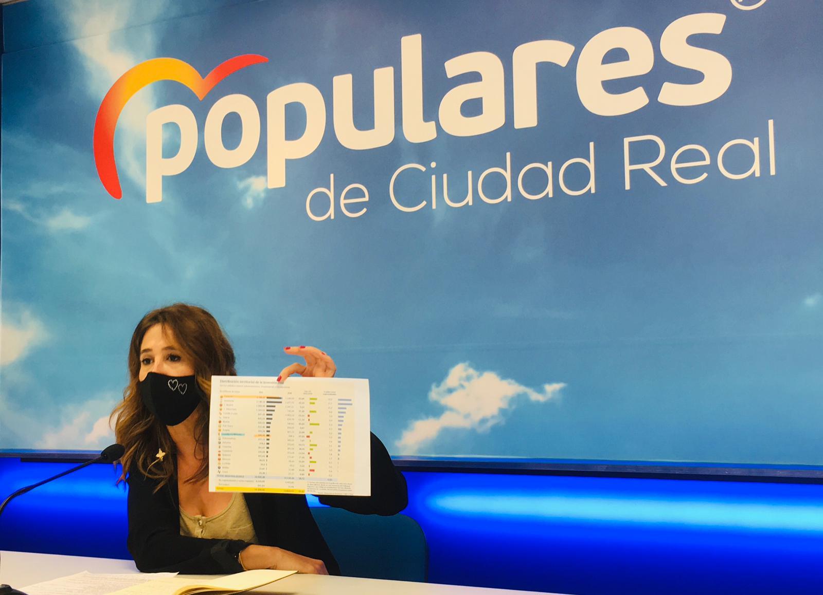 Romero afirma que los Presupuestos de Sánchez castigan a los ciudadrealeños con más impuestos y nos sitúan como una provincia de tercera categoría