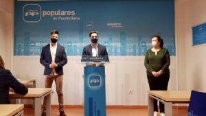 """Serrano lamenta la """"preocupante estela"""" que está siguiendo el PSOE con su """"falta de diálogo y escucha"""" a la oposición"""