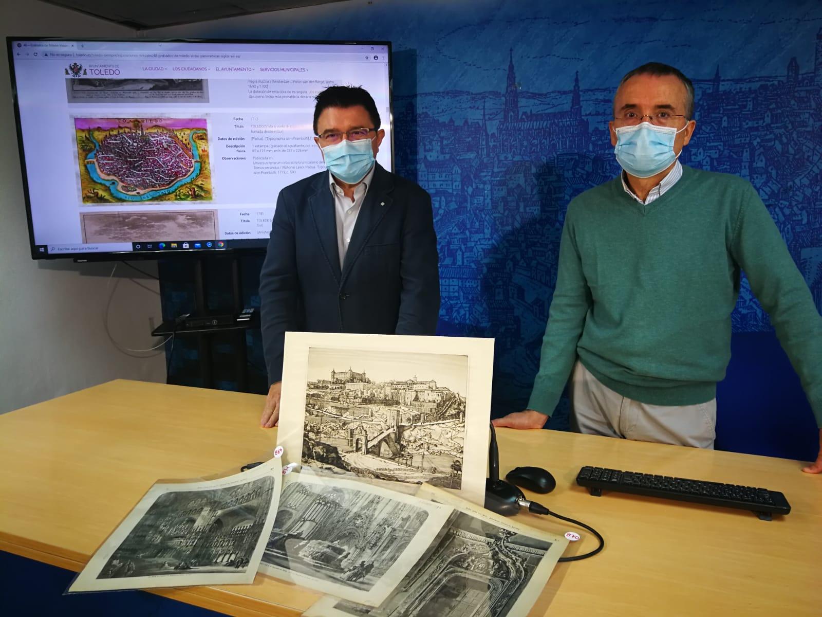 El Archivo Municipal digitaliza y describe la colección de grabados formada por más de un millar de documentos gráficos
