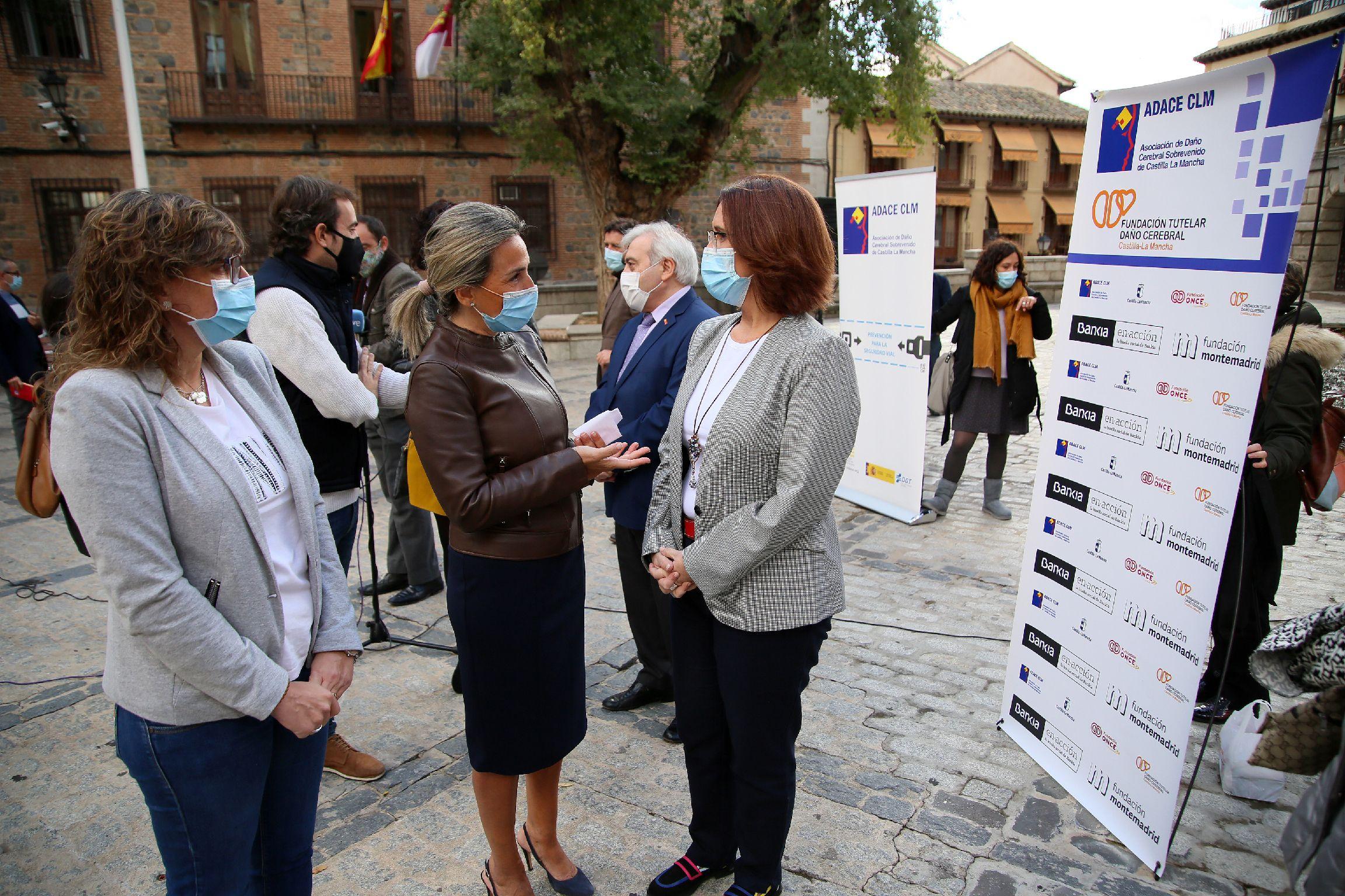 La alcaldesa expresa su apoyo incondicional a ADACE en el Día Nacional del Daño Cerebral que tiene lugar cada 26 de octubre