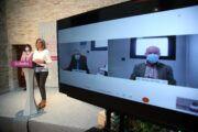 La alcaldesa anuncia en la presentación de la XII Semana del Mayor un Plan de Fomento de la Lectura para la tercera edad