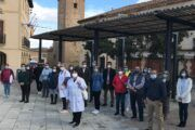 El Gobierno regional subraya el impacto en la economía y el empleo que genera el servicio de Ayuda a Domicilio en la comarca de Talavera, dando trabajo a más de 300 personas