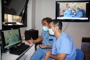Una prestigiosa revista de Estados Unidos publica un vídeo sobre el empleo de simuladores quirúrgicos en el Hospital Mancha Centro