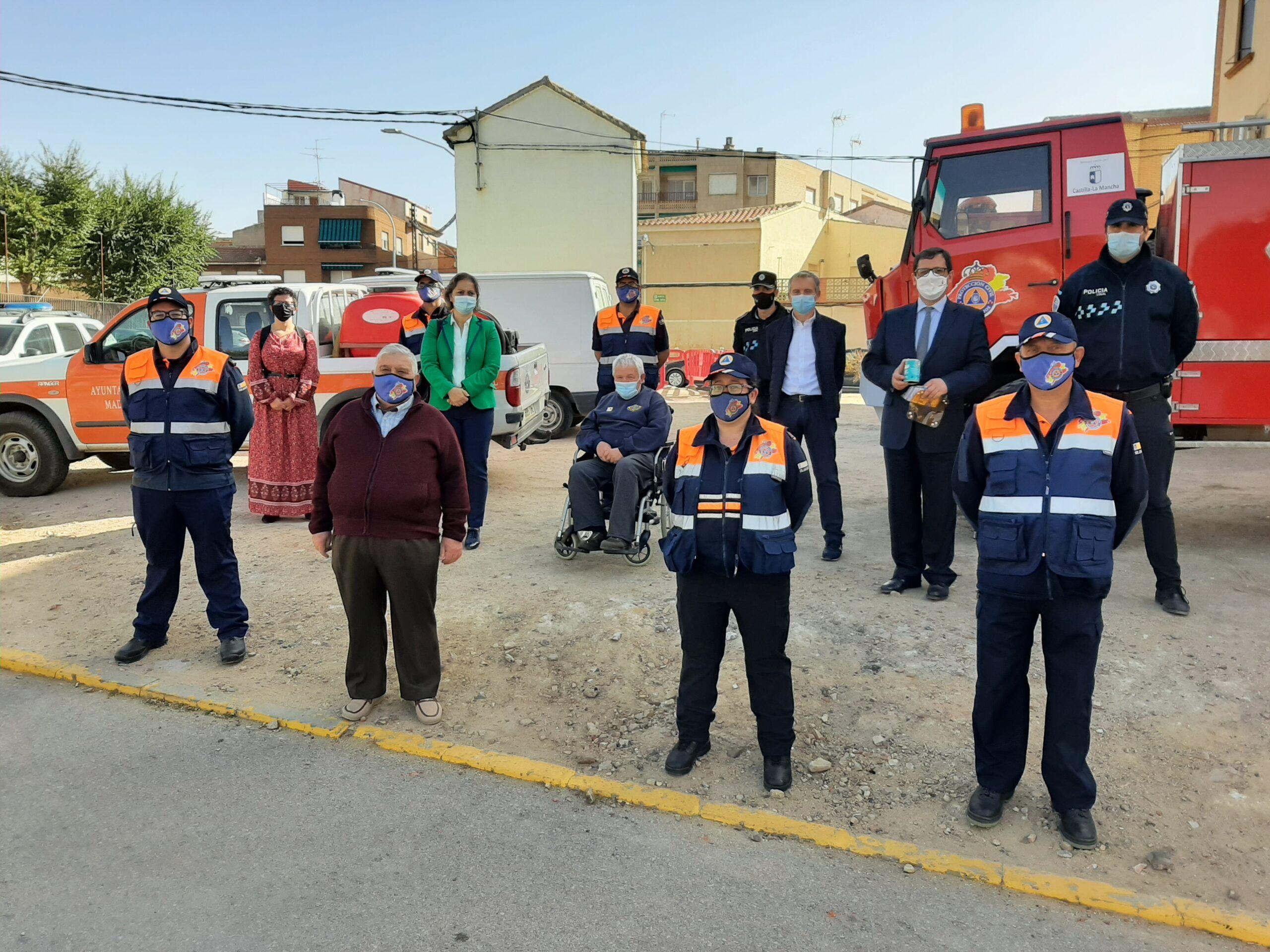 El Gobierno regional continúa apostando por las agrupaciones de Protección Civil consciente de su ejemplar e imprescindible labor diaria