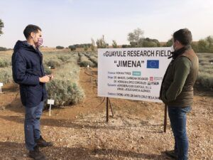 Julio Comendador conoce una novedosa plantación que solo se cultiva en la provincia de Toledo y que puede revolucionar la industria