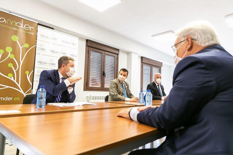 """García-Page anuncia la redacción del Plan Funcional del Hospital Universitario de Guadalajara """"antes de que acabe este año"""""""