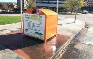 El Ayuntamiento renueva los siete contenedores de reciclado de aceite de uso doméstico distribuidos por la ciudad