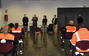 El Gobierno de Castilla-La Mancha celebra en Miguelturra un curso básico de formación en el que participan 60 voluntarios de Protección Civil