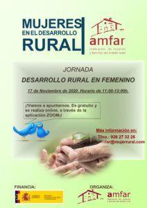 Desarrollo Rural, Emprendimiento, Cooperativas y Nueva PAC, a debate en cuatro jornadas telemáticas de AMFAR