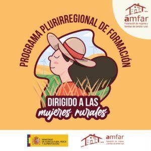 Un centenar de mujeres rurales participan en la formación online de AMFAR