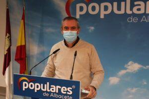 Aroca pide a García-Page que sea consecuente con sus palabras y ordene a los senadores del PSOE-CLM votar en contra de la Ley Celaá