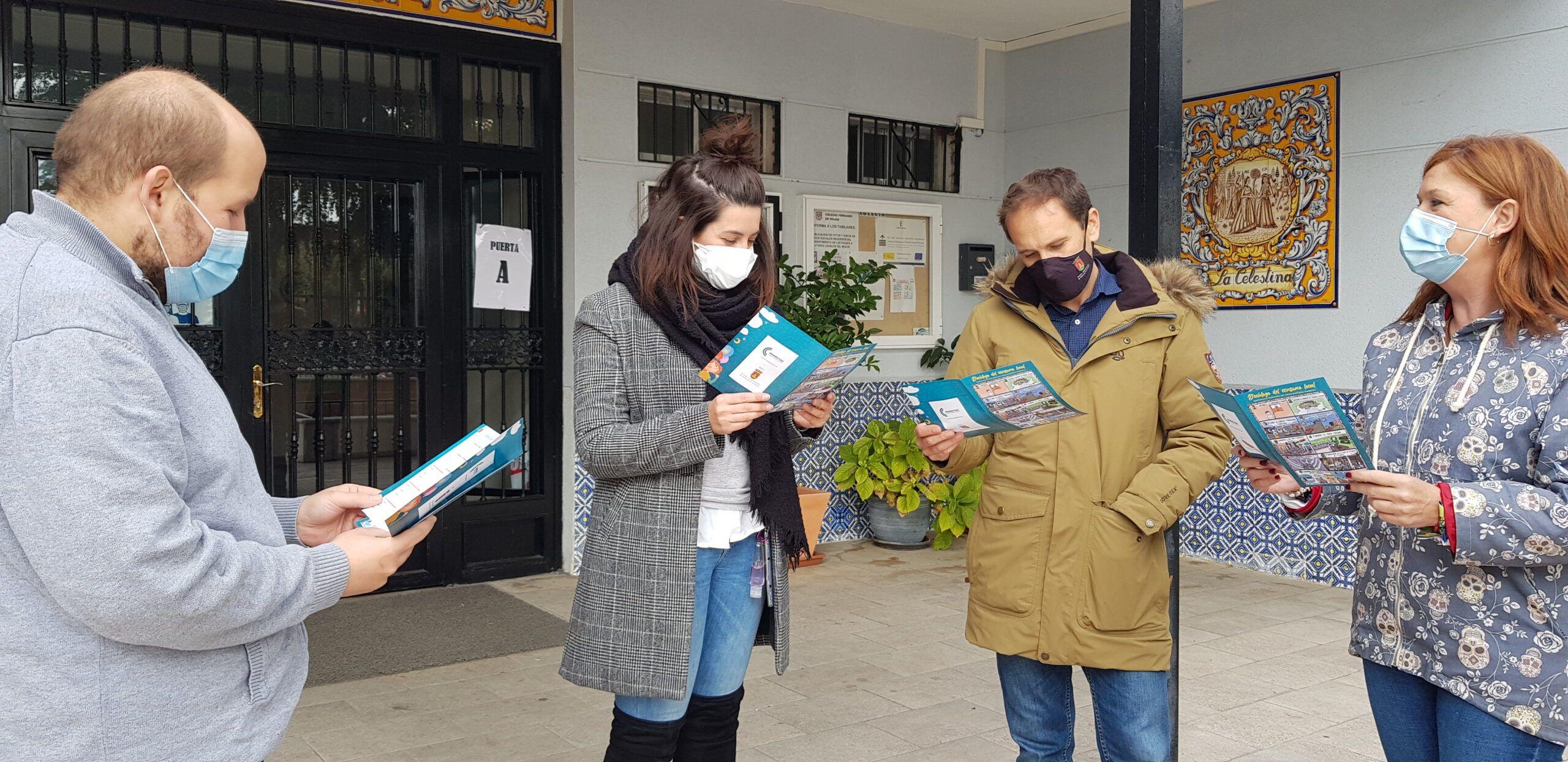 El Ayuntamiento y Comercyas promueven una campaña de fomento del consumo local en 50 centros educativos de Talavera y comarca