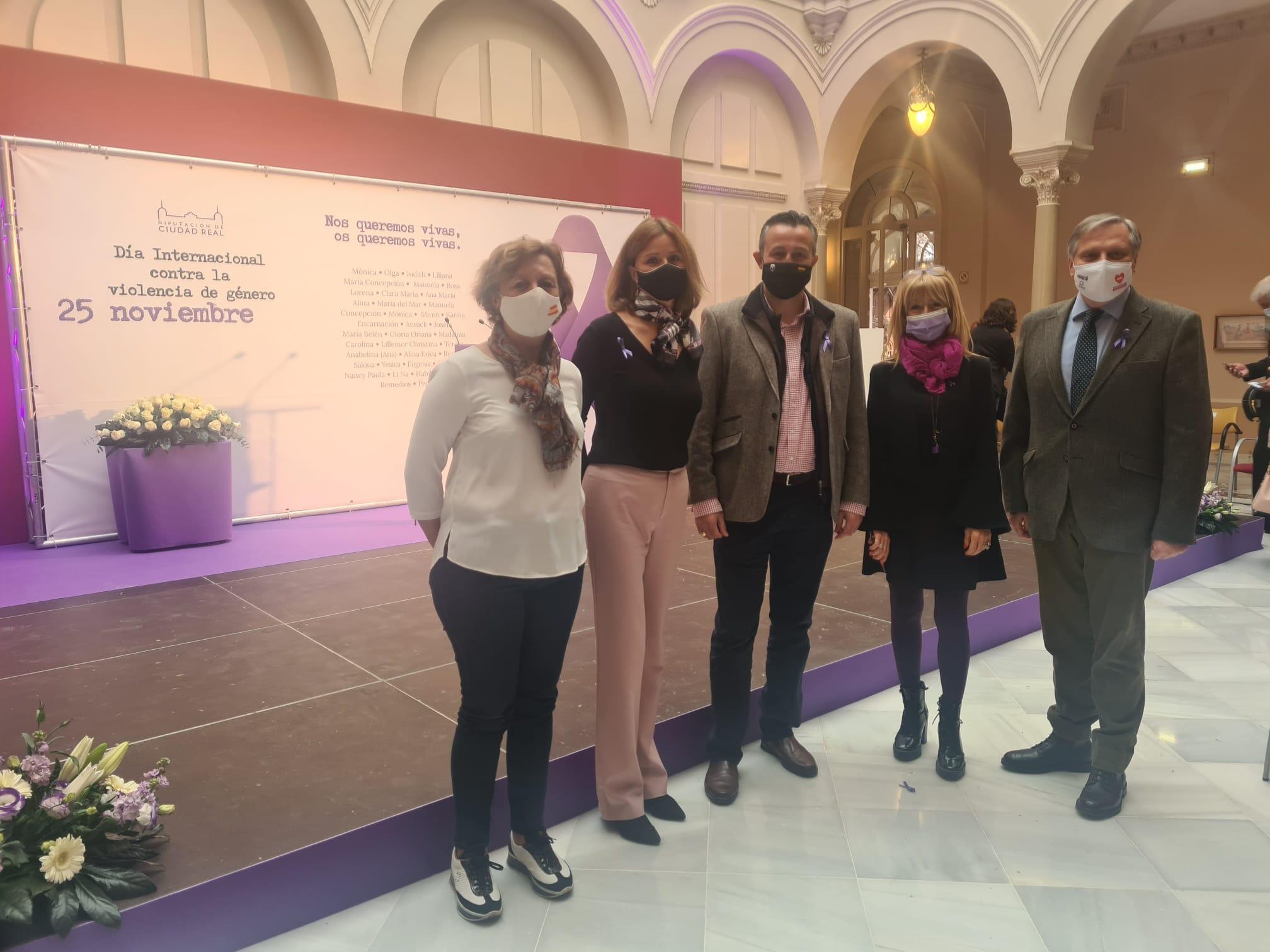 El PP de Ciudad Real expresa su apoyo inequívoco a las víctimas de malos tratos