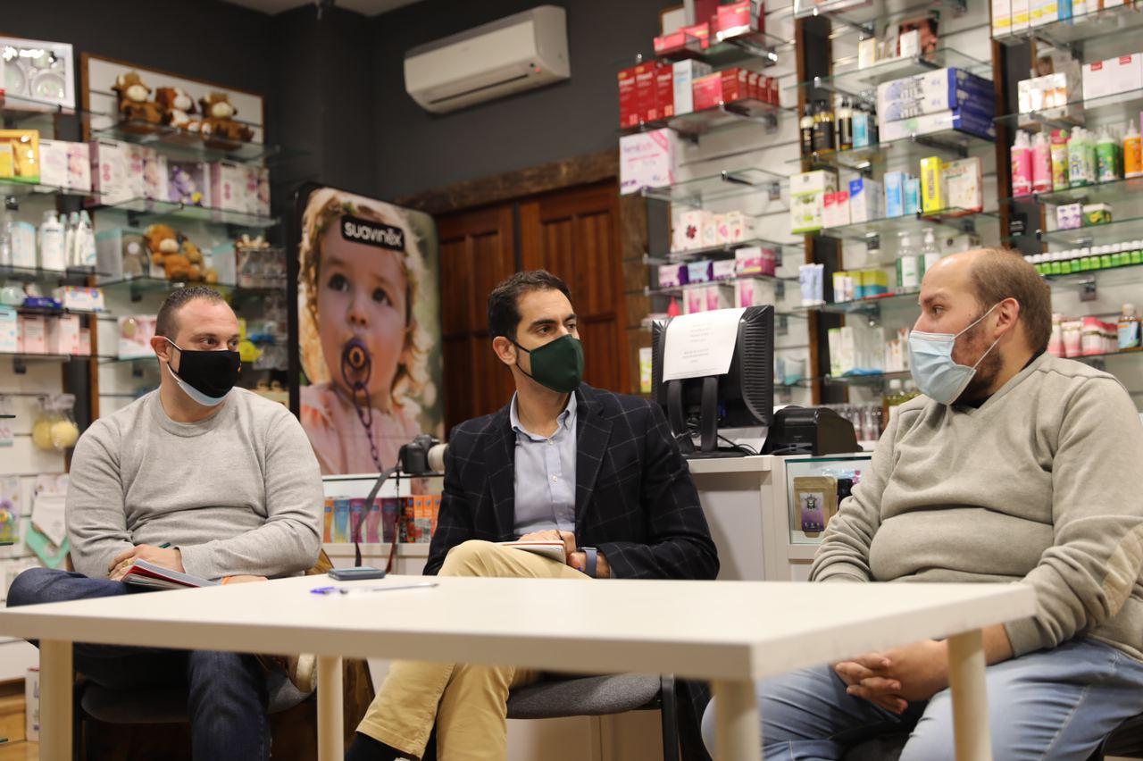 Comendador conoce en Talavera la iniciativa Comercyas y anima a que