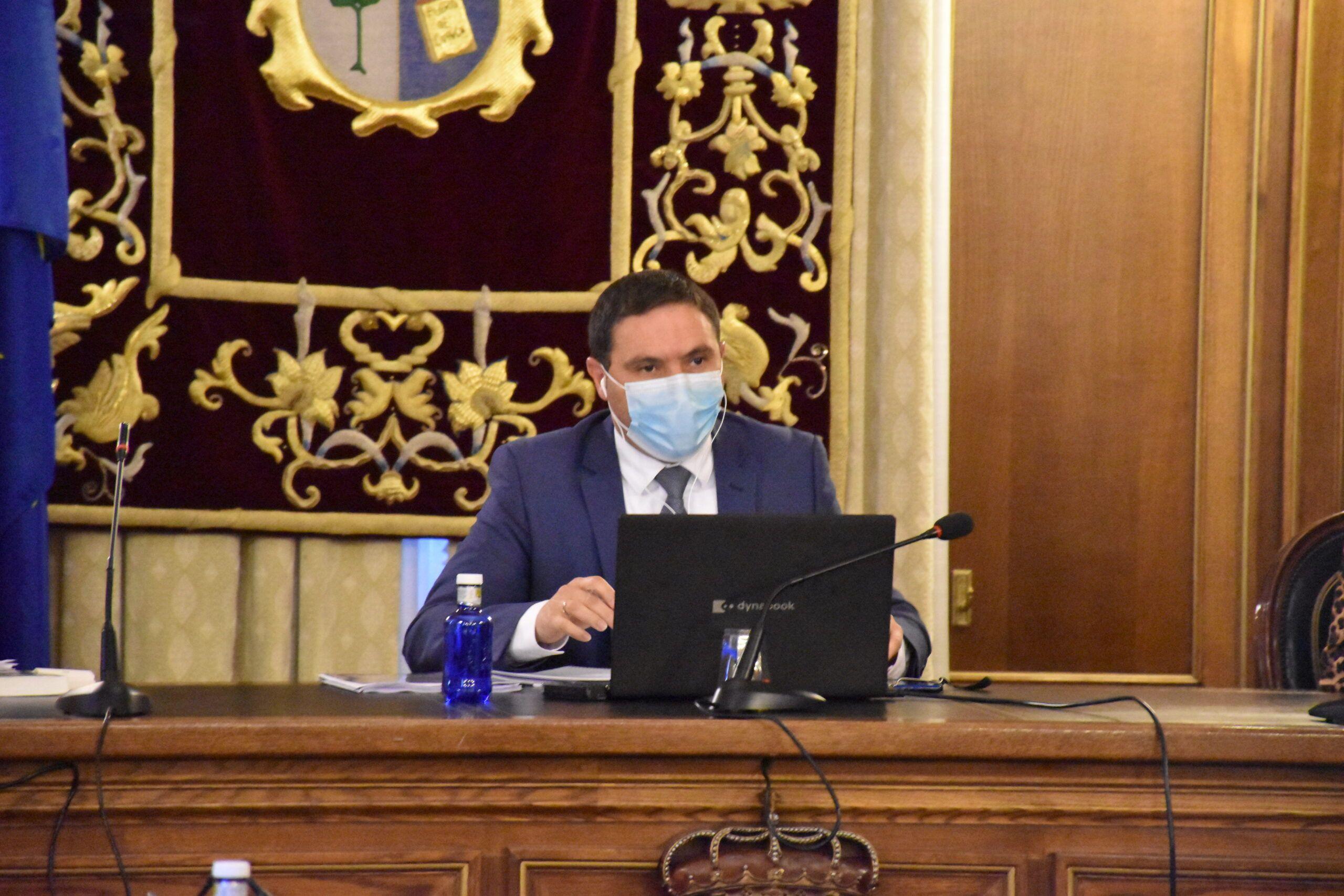 La Diputación aprueba por unanimidad un paquete de medidas para luchar contra el Covid de 8,9 millones de euros