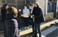 El PP recoge firmas contra la Ley Celaá en Tarancón y agradece el apoyo ciudadano