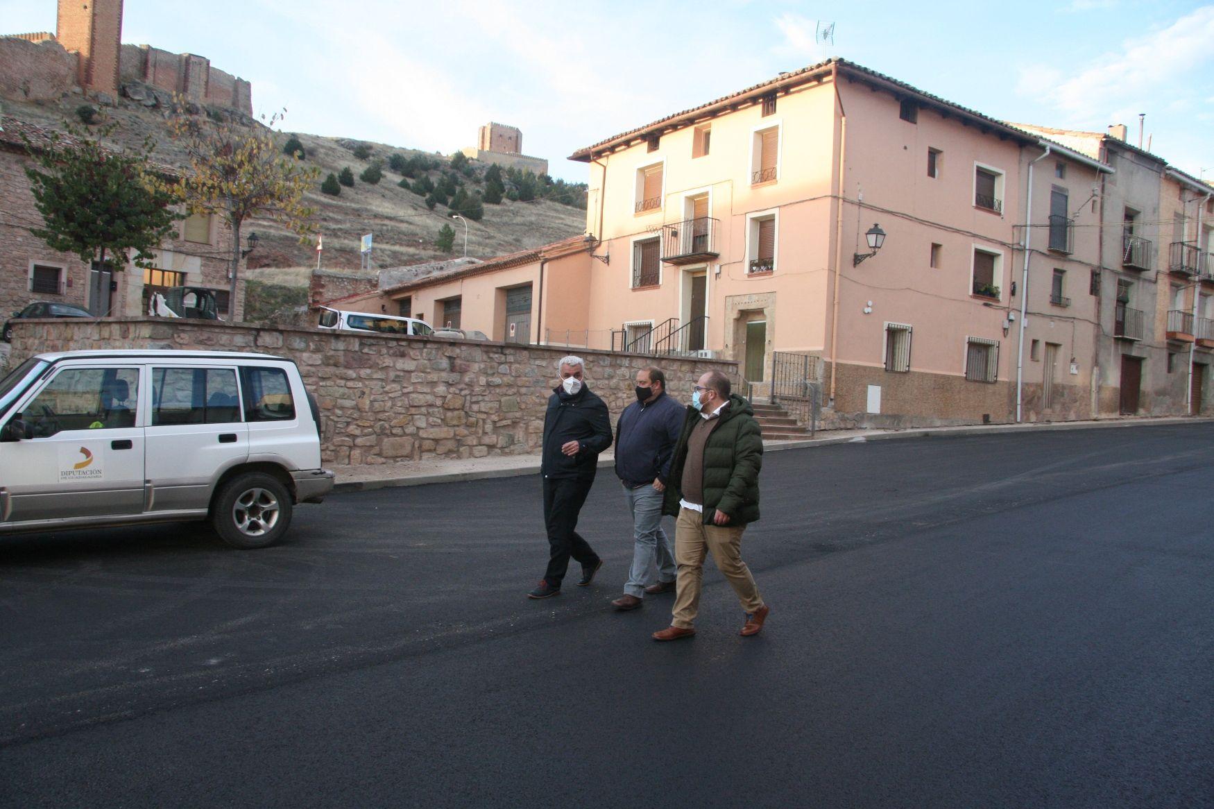 La Diputación ejecuta mejoras en varias calles de Molina de Aragón con una inversión de 257.700 €