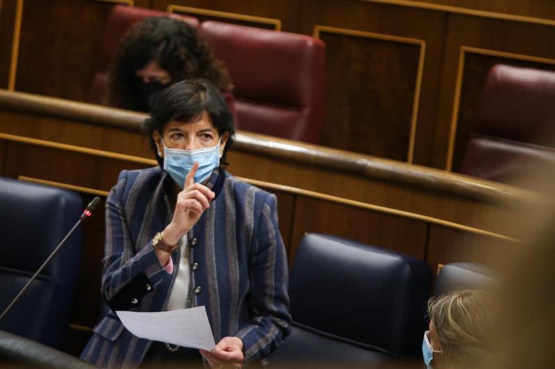 El Congreso remite al Senado la reforma educativa de Celaá