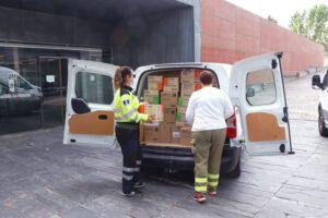 El Gobierno de Castilla-La Mancha ha distribuido más de 35 millones de artículos de protección para profesionales sanitarios desde el inicio de la pandemia