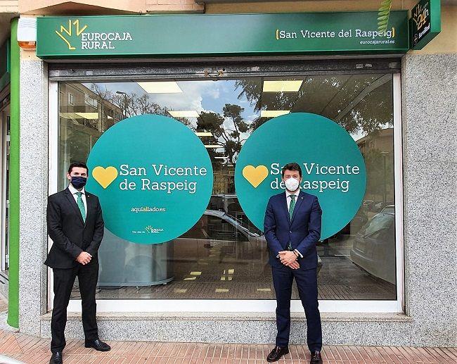 Eurocaja Rural abre nueva oficina en San Vicente del Raspeig (Alicante)