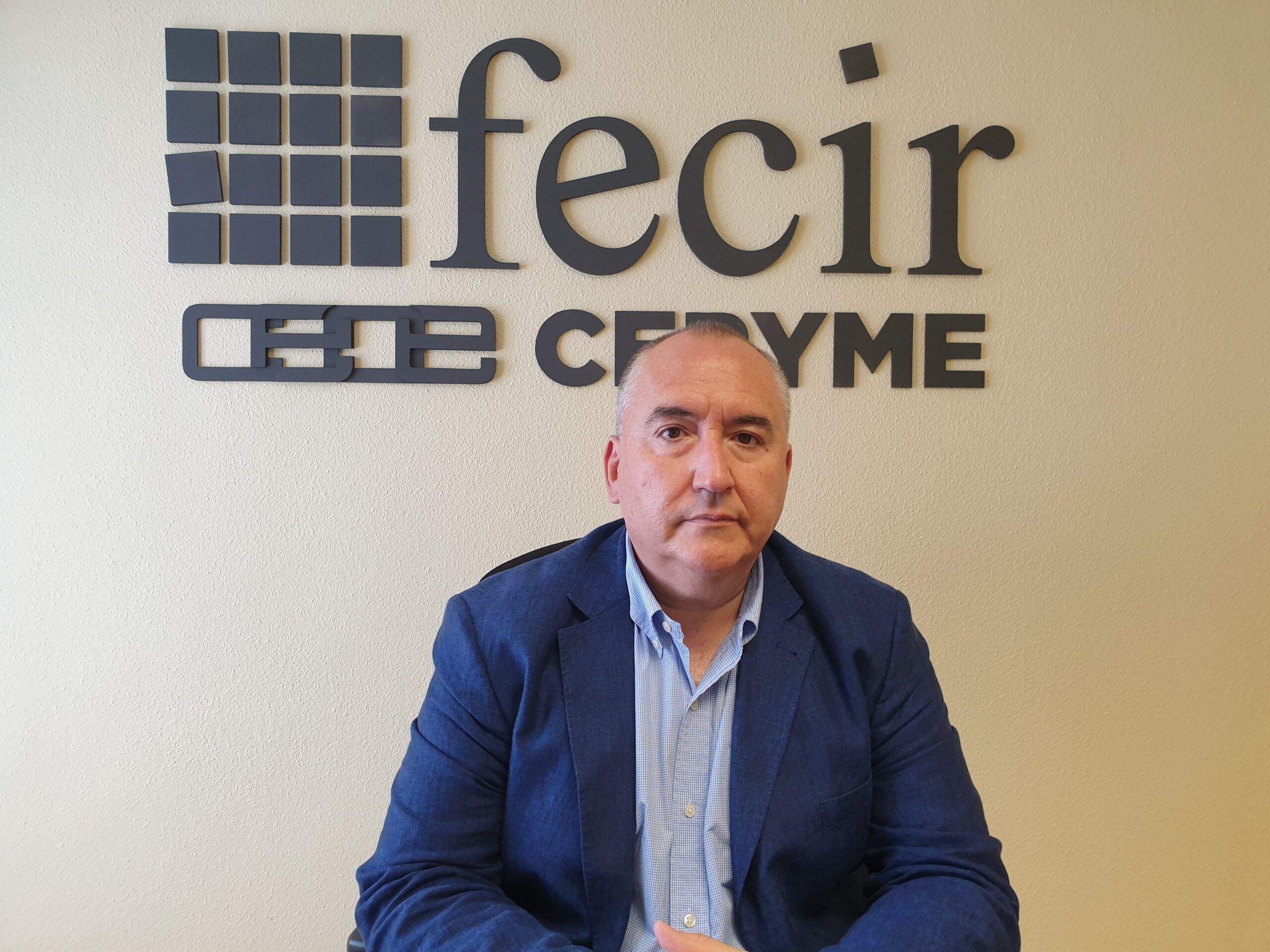 """El presidente de Fecir, Carlos Marín, indica que son """"necesarias medidas estructurales a nivel nacional y no brindis al sol"""""""