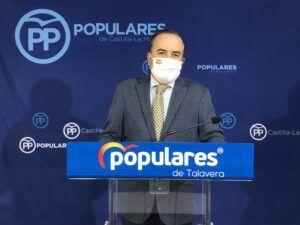 """Gregorio critica que Page se alinee con Sánchez y Rufián para subir los impuestos en toda España """"menos a los separatistas"""""""