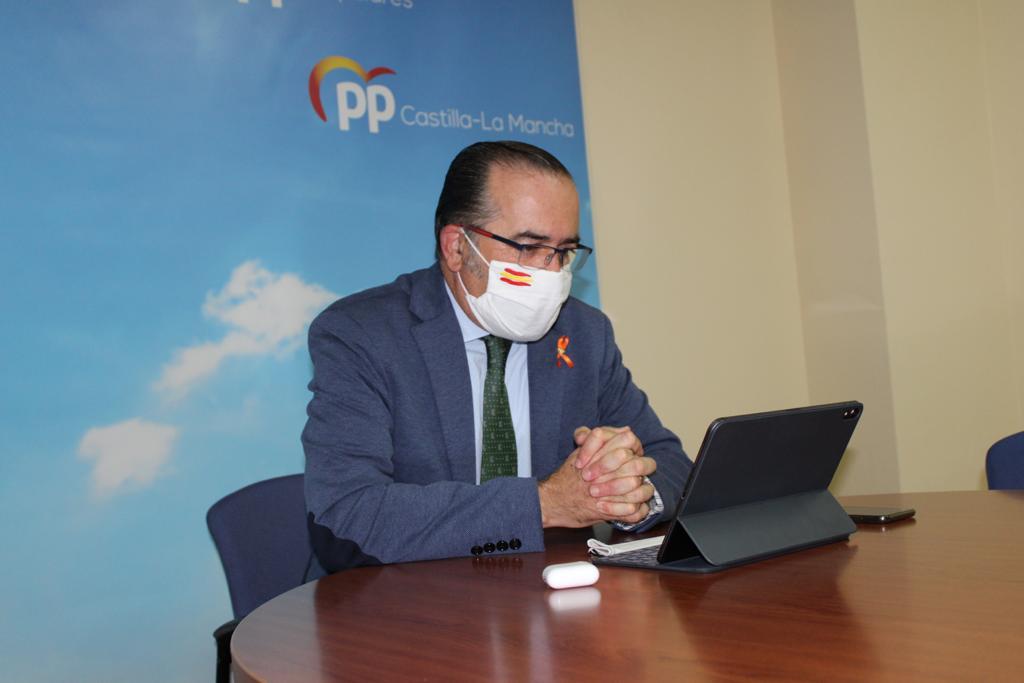 Gregorio anuncia la presentación de mociones contra la Ley Celaá en los ayuntamientos de la provincia de Toledo