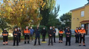 Un total de 20 voluntarios de agrupaciones de Protección Civil de la provincia de Toledo participan en el curso 'Búsqueda de personas en grandes áreas'