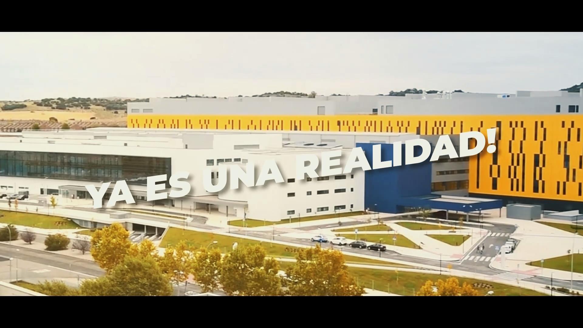 El PSOE de CLM recuerda en un vídeo la historia del nuevo Hospital de Toledo,