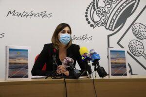 """Díaz-Benito: Queremos que Manzanares sea un referente en el uso de tecnologías sostenibles"""""""