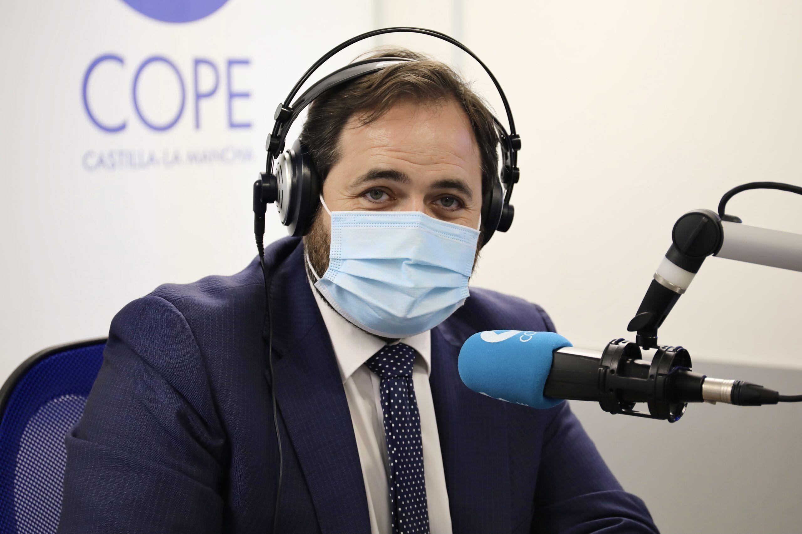 """Núñez avanza que el PP-CLM presentará una enmienda a la totalidad a los presupuestos """"irreales"""" de Page para 2021"""