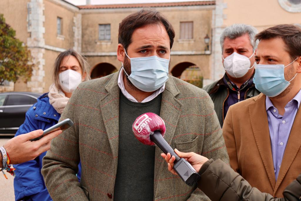Núñez reclama de nuevo a Page que dé órdenes de manera `clara y rotunda´ a sus 9 diputados para que rechacen los PGE y los pactos con Bildu y ERC