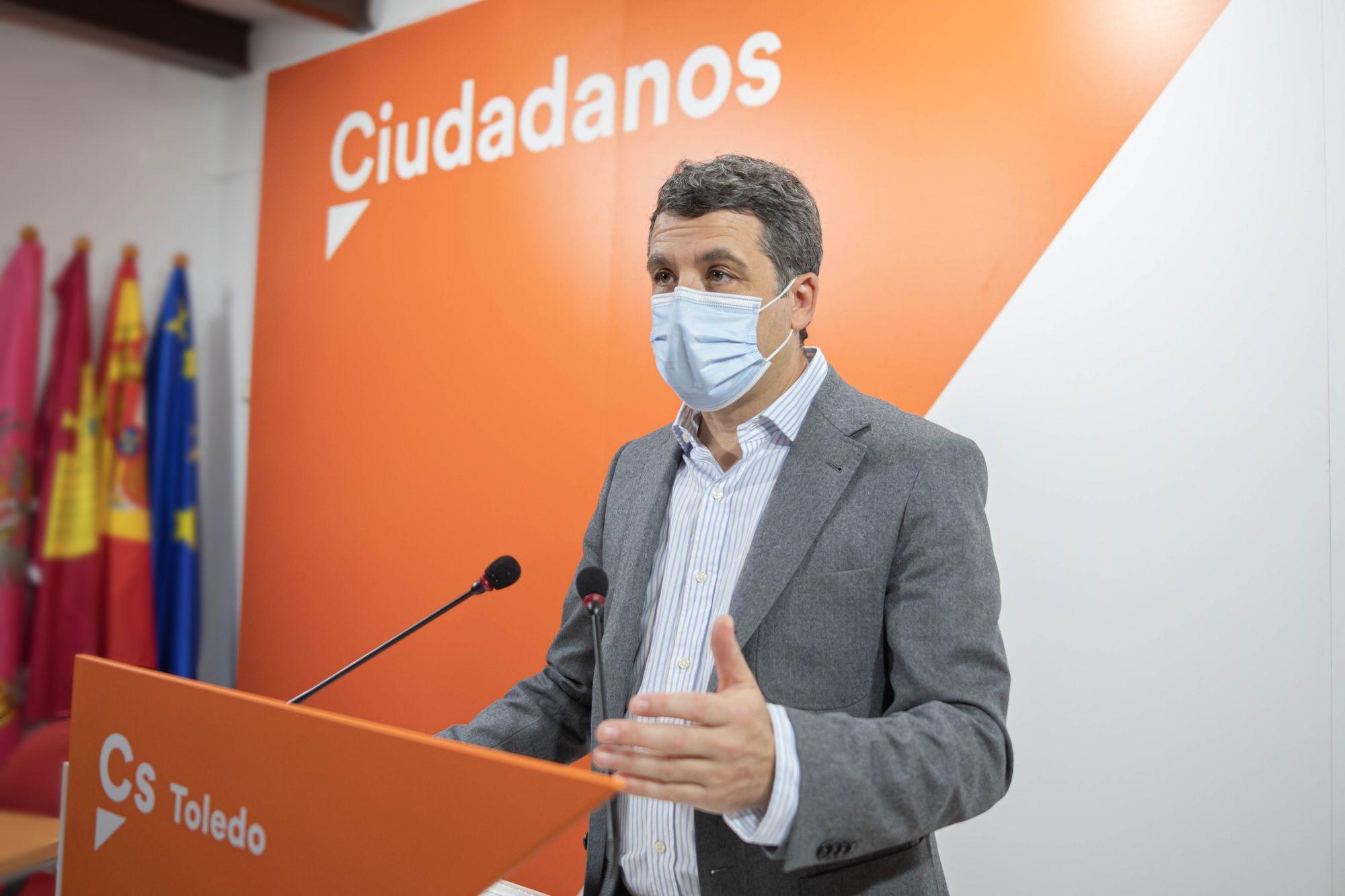 """Ciudadanos Toledo califica de """"tacaño e insuficiente"""" el plan de 2.400 euros con el que el PSOE quiere apoyar al comercio local"""