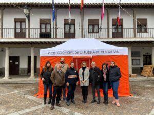 El Gobierno de Castilla-La Mancha dota de uniformes y material a 72 agrupaciones de voluntarios de Protección Civil de la provincia de Toledo