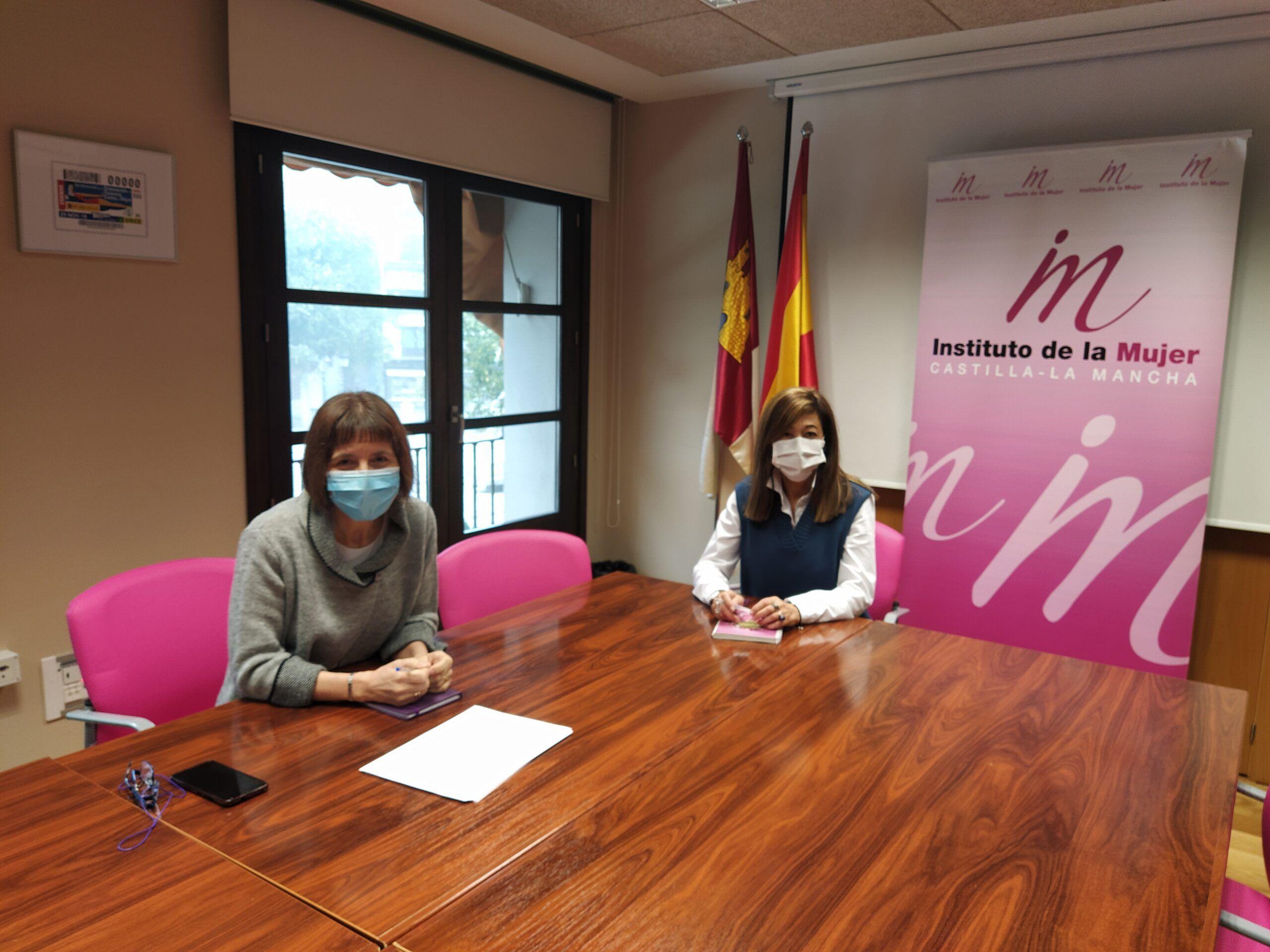 Consuelo García valora la estrecha colaboración entre la Unidad de Coordinación contra la Violencia sobre la Mujer de Castilla-La Mancha y el Instituto de la Mujer de Castilla-La Mancha