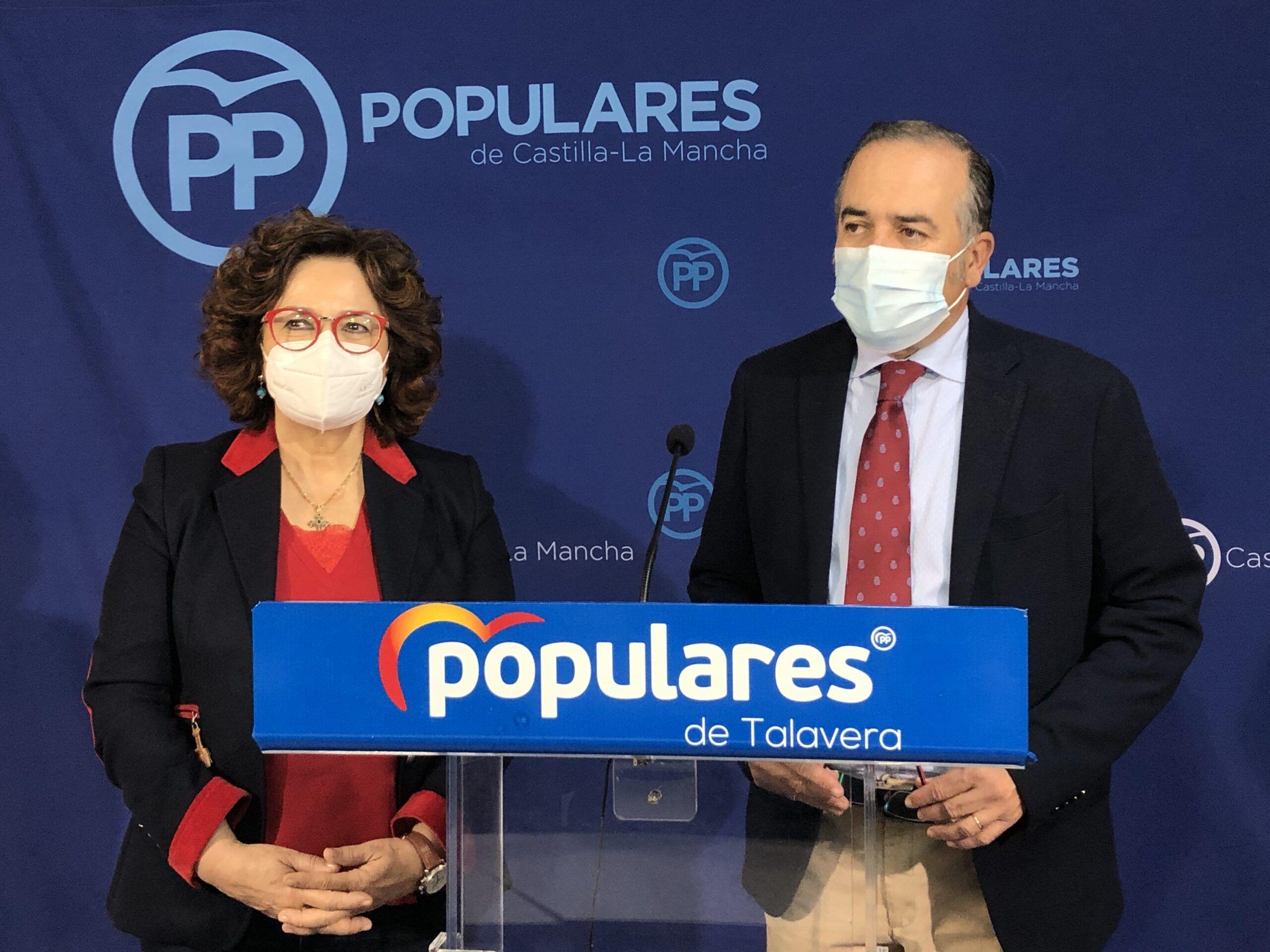 """Gregorio y Riolobos exigen a los diputados del PSOE""""que se opongan a los PGE porque son muy dañinos para la provincia y Talavera y su comarca"""""""
