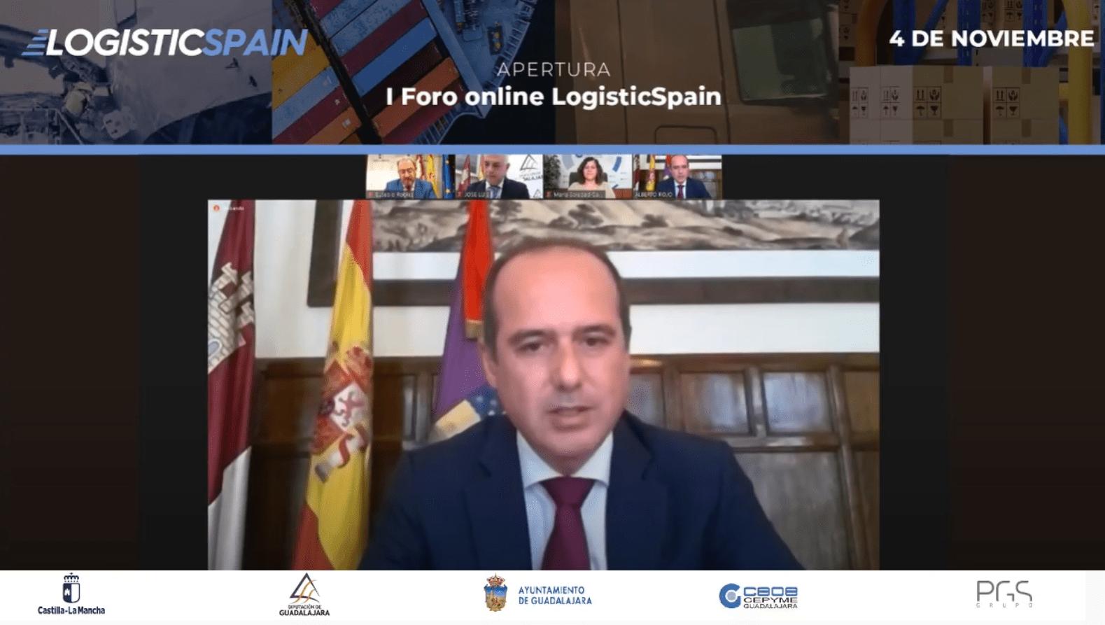 """Rojo: """"La feria internacional de la logística será el escaparate perfecto en el que consolidarnos como una referencia mundial en el sector"""""""
