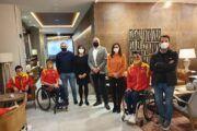 El Gobierno regional muestra su apoyo a la Selección Española de Ciclismo Adaptado que prepara sus compromisos internacionales en Castilla-La Mancha