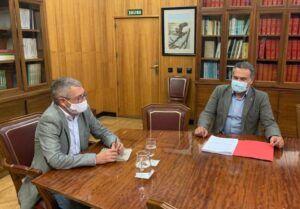 Manuel Miranda reivindica el compromiso del Gobierno de España con la provincia de Albacete tras su encuentro con el secretario de Estado de Medio Ambiente