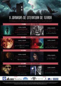 El Ayuntamiento apoya las II Jornadas de Literatura de Terror que tendrán lugar todos los miércoles del mes de noviembre