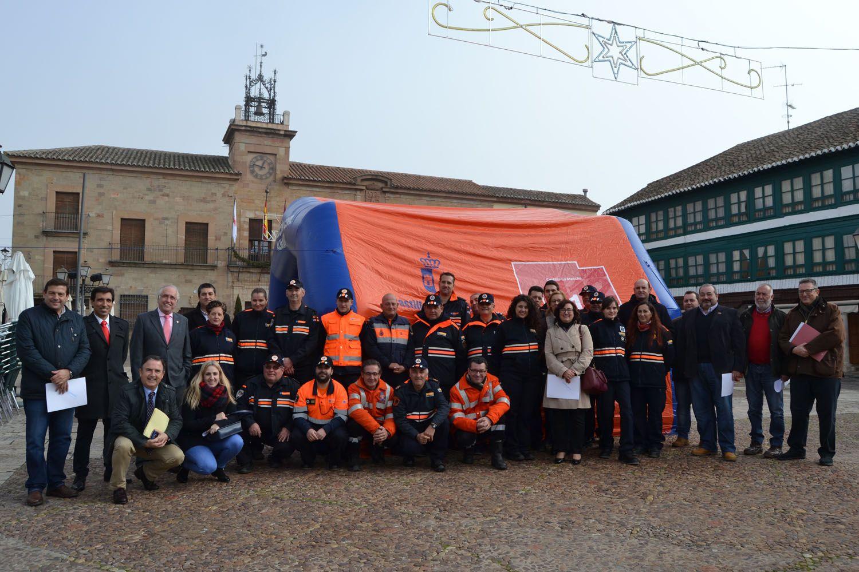 El Gobierno de García-Page subvenciona a 31 agrupaciones de Protección Civil con 50.000 euros para uniformes y medios materiales